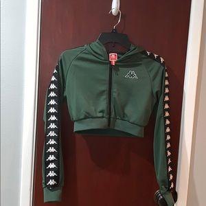 Dark Green Kappa Jacket